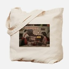 Cute Food fight Tote Bag