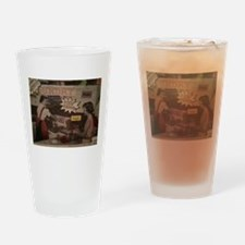 Unique Food fight Drinking Glass