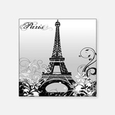 Eiffel Tower Paris (b/w) Sticker