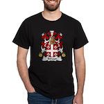 Beraud Family Crest Dark T-Shirt