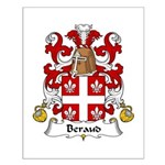 Beraud Family Crest Small Poster