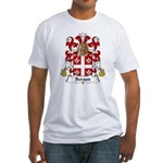 Beraud Family Crest Fitted T-Shirt