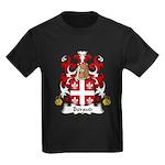 Beraud Family Crest Kids Dark T-Shirt