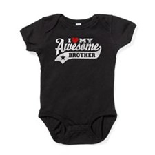 I Love My Awesome Brother Baby Bodysuit