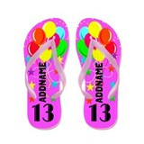 13th birthday Flip Flops