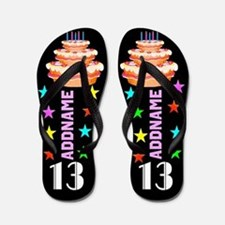 Stylish 13th Flip Flops