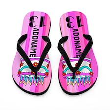 Charming 13th Flip Flops