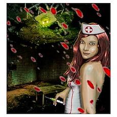 Caotic Nurse Poster