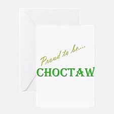 Choctaw Greeting Card