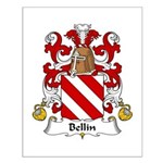 Bellin Family Crest Small Poster