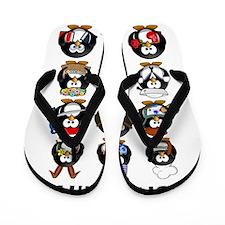 Penguins Flip Flops