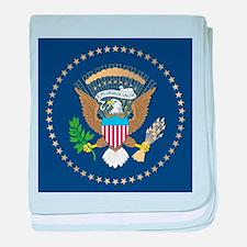 Presidential Seal baby blanket