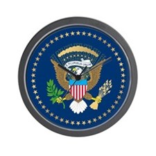 Presidential Seal Wall Clock