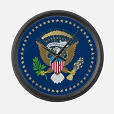 Presidential Seal Large Wall Clock