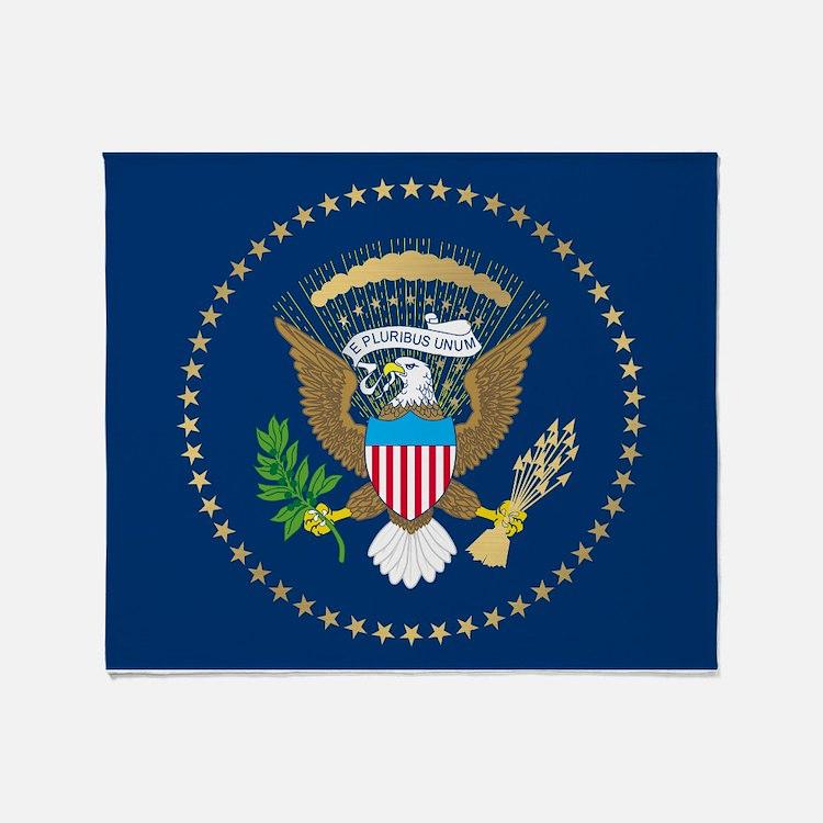 Presidential Seal Throw Blanket