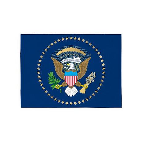Presidential Seal 5 X7 Area Rug By Birdsandflowers