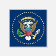 "Presidential Seal Square Sticker 3"" x 3"""