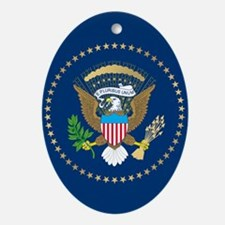 Presidential Seal Ornament (Oval)