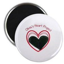 Olivia's Heart Project Magnet