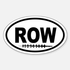 Crew Eight Oval Decal