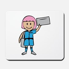 Mail Lady Mousepad