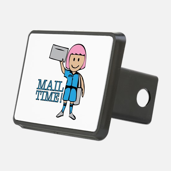 Mail Time Hitch Cover
