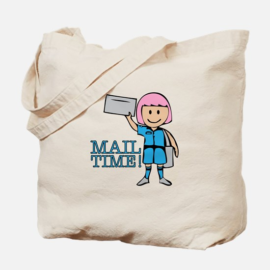 Mail Time Tote Bag
