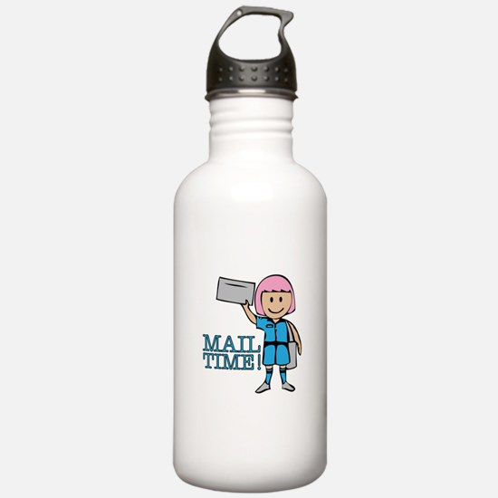 Mail Time Water Bottle