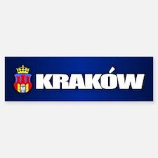 Krakow Bumper Bumper Bumper Sticker