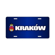 Krakow Aluminum License Plate