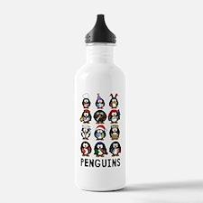 Penguins Water Bottle