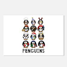 Penguins Postcards (Package of 8)