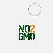 No 2 GMO Keychains