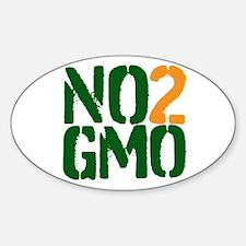 No 2 GMO Decal