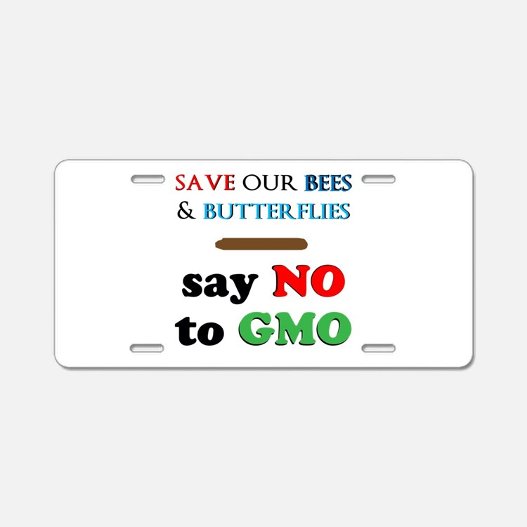 Save Our Bees Aluminum License Plate