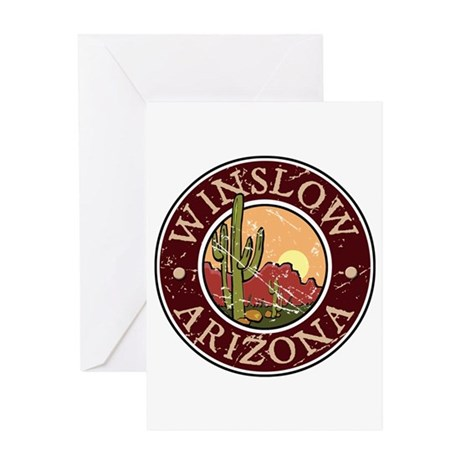 Winslow Greeting Card
