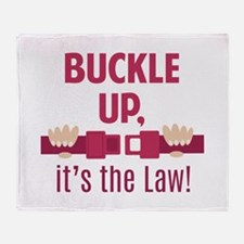Buckle Up Throw Blanket