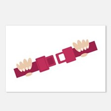 Seat Belt Postcards (Package of 8)