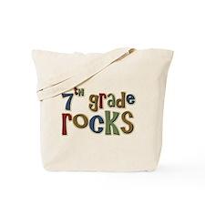 7th Grade Rocks Seventh School Tote Bag