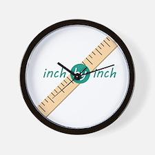 Inch by Inch Wall Clock