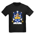Belle Family Crest Kids Dark T-Shirt