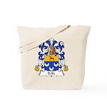 Belle Family Crest Tote Bag