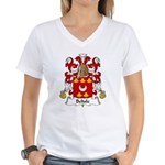 Belisle Family Crest Women's V-Neck T-Shirt