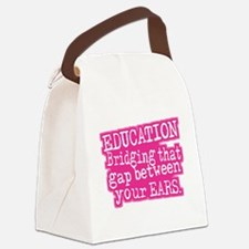 Education Humor Canvas Lunch Bag