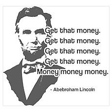 Abebroham Lincoln Poster