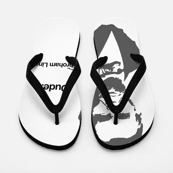 Abebroham Lincoln Flip Flops