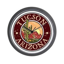 Tuscon Wall Clock