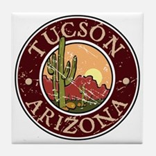 Tuscon Tile Coaster
