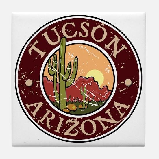 Tuscon Tile Coaster