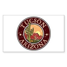 Tuscon Rectangle Decal